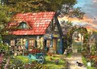 Garden Shed (JUM18529), a 500 piece jigsaw puzzle by Jumbo. Click to view this jigsaw puzzle.