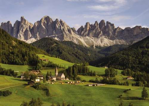The Dolomites (JUM18557), a 1000 piece jigsaw puzzle by Jumbo. Click to view larger image.