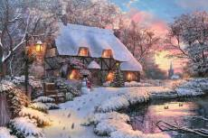 Winter Cottage. Click to view this product