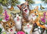 Friends Fur-Ever (Selfies) (HOL770663), a 500 piece Holdson jigsaw puzzle.