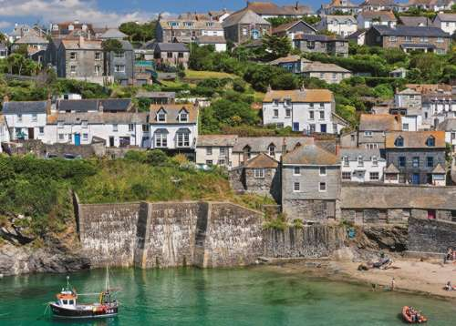 Port Isaac, Cornwall (JUM11179), a 1000 piece jigsaw puzzle by Jumbo. Click to view larger image.