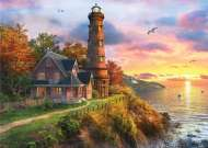 Lighthouse Point (Sunsets) (HOL770373), a 1000 piece Holdson jigsaw puzzle.