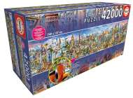 Around the World (42000pc) (EDU17570), a 42000 piece Educa jigsaw puzzle.