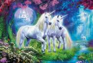 Unicorns in the Forest (EDU17648), a 500 piece Educa jigsaw puzzle.