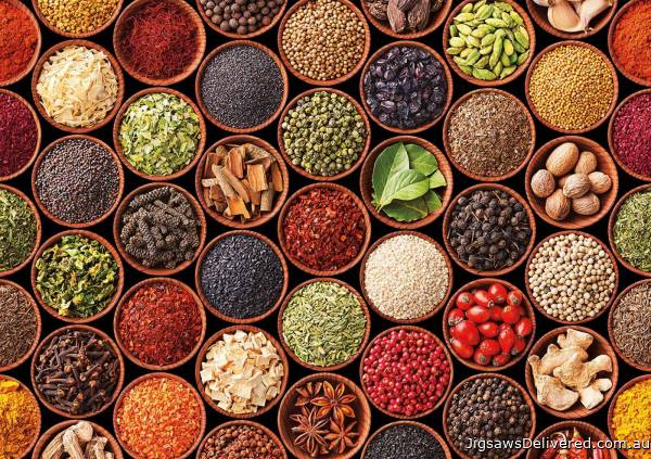 Spices (EDU17666), a 1500 piece jigsaw puzzle by Educa.