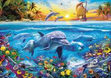 Family of Dolphins. Click to view this product