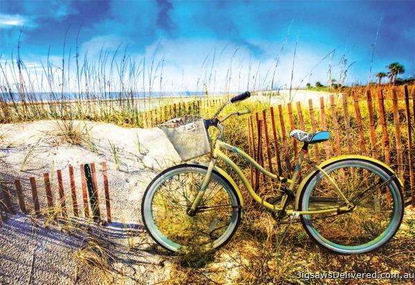 Ride to the Beach (EDU17657), a 1000 piece jigsaw puzzle by Educa.