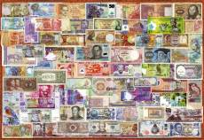 World Bank Note Collage. Click to view this product