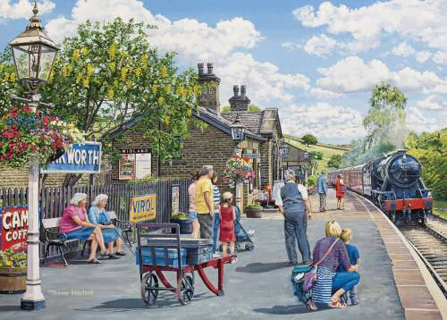 Oakworth (Large Pieces) (HOL770526), a 500 piece jigsaw puzzle by Holdson. Click to view larger image.