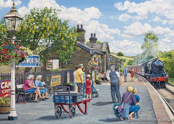 Oakworth (Large Pieces) (HOL770526), a 500 piece jigsaw puzzle by Holdson.