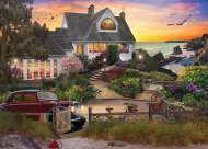 Seaside Hill (Home Sweet Home) (HOL770731), a 1000 piece Holdson jigsaw puzzle.