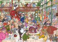 Fast Food Frenzy (Destiny Wasgij #18) (HOL770632), a 1000 piece jigsaw puzzle by Holdson and artist James Alexander. Click to view this jigsaw puzzle.