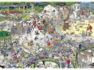 The Zoo (JUM01491), a 1000 piece Jumbo jigsaw puzzle.
