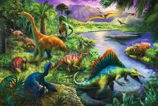 Dinosaurs (Large Pieces) (TRE13214), a 260 piece Trefl jigsaw puzzle.