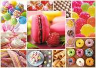Candy Collage (TRE10469), a 1000 piece Trefl jigsaw puzzle.