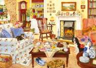 Afternoon Tea (Home is where the heart is) (HOL092840), a 1000 piece Holdson jigsaw puzzle.