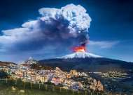 Mount Etna Volcano, Italy (CLE 39453), a 1000 piece Clementoni jigsaw puzzle.