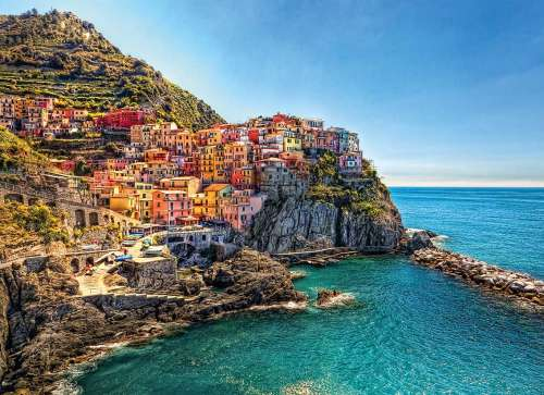 Cinque Terre, Italy (CLE 39452), a 1000 piece jigsaw puzzle by Clementoni. Click to view larger image.
