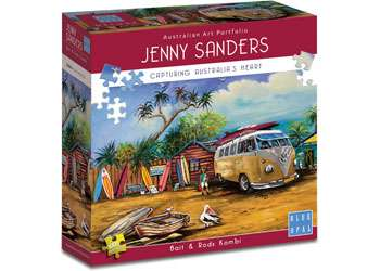 Bait and Rods Kombi (BL02008), a 1000 piece jigsaw puzzle by Blue Opal. Click to view larger image.