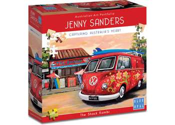 The Shack Kombi (BL02006), a 1000 piece jigsaw puzzle by Blue Opal. Click to view larger image.