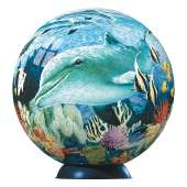 Underwater World (3D Puzzle) (RB12429-9), a 540 piece Ravensburger jigsaw puzzle.