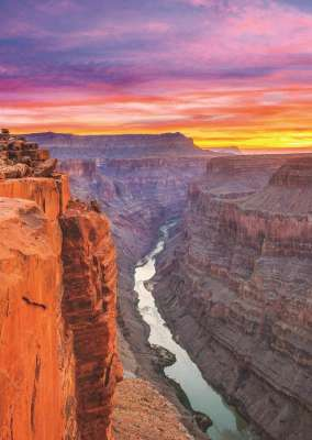 Grand Canyon, USA (JUM18399), a 500 piece jigsaw puzzle by Jumbo. Click to view larger image.