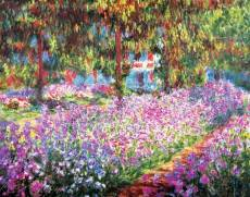 Monet's Garden. Click to view this product