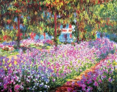 Monet's Garden (EUR24908), a 2000 piece jigsaw puzzle by Eurographics. Click to view larger image.