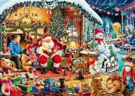 Let's Visit Santa! (RB15354-1), a 1000 piece jigsaw puzzle by Ravensburger. Click to view this jigsaw puzzle.