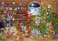 Countdown to Christmas (RB19882-5), a 1000 piece jigsaw puzzle by Ravensburger. Click to view this jigsaw puzzle.