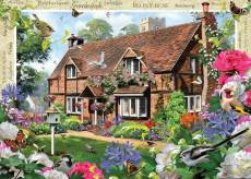 Peony Cottage (Large Pieces) (HOL770885), a 500 piece Holdson jigsaw puzzle.