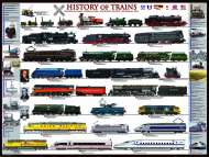 History of Trains (EUR60251), a 1000 piece Eurographics jigsaw puzzle.