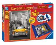 New York Taxi (With Storage Roll) (RB19907-5), a 1000 piece Ravensburger jigsaw puzzle.