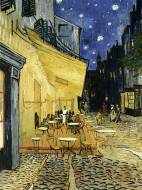 Cafe Terrace at Night. Click to view this product