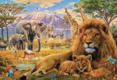 African Savannah (Gallery) (HOL771004), a 300 piece Holdson jigsaw puzzle.