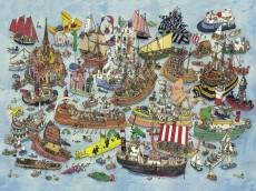 Regatta (HEY29891), a 1500 piece HEYE jigsaw puzzle.