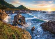 Big Sur Sunset, California USA (RB15287-2), a 1000 piece Ravensburger jigsaw puzzle.