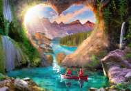 Heartview Cave (RB15272-8), a 1000 piece Ravensburger jigsaw puzzle.