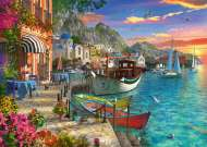 Grandiose Greece (RB15271-1), a 1000 piece jigsaw puzzle by Ravensburger. Click to view this jigsaw puzzle.