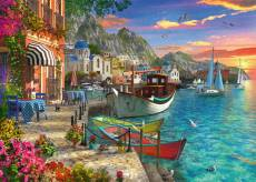 Grandiose Greece (RB15271-1), a 1000 piece Ravensburger jigsaw puzzle.