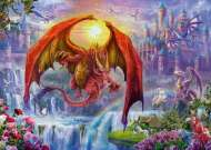 Dragon Kingdom (RB15269-8), a 1000 piece Ravensburger jigsaw puzzle.