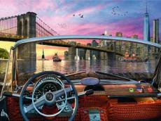 Brooklyn Bridge (RB15267-4), a 1000 piece Ravensburger jigsaw puzzle.