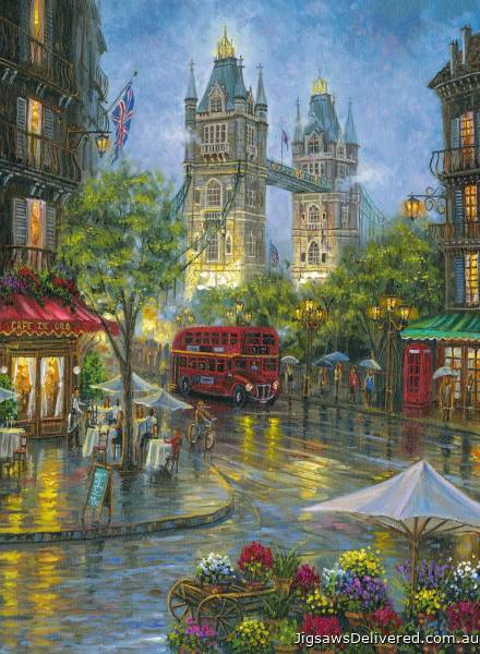 Picturesque London (RB14812-7), a 500 piece jigsaw puzzle by Ravensburger.