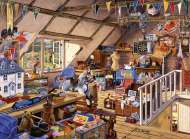 Grandmas Attic (RB13709-1), a 500 piece jigsaw puzzle by Ravensburger. Click to view this jigsaw puzzle.
