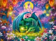 Mystical Dragon (RB13258-4), a 300 piece Ravensburger jigsaw puzzle.