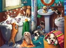 Tub Time (RB12667-5), a 200 piece Ravensburger jigsaw puzzle.