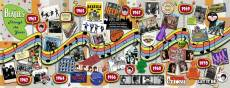 The Beatles Through the Years (Panoramic) (RB15096-0), a 1000 piece Ravensburger jigsaw puzzle.