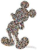 Mickey (Shaped Puzzle) (RB16099-0), a 937 piece Ravensburger jigsaw puzzle.