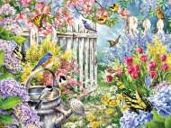 Spring Awakening (Large Pieces) (RB13584-4), a 300 piece Ravensburger jigsaw puzzle.