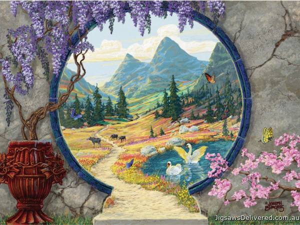 Into a New World (Large Pieces) (RB13576-9), a 300 piece jigsaw puzzle by Ravensburger.